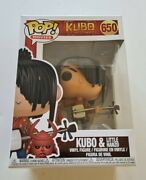 Funko Pop Movies 650 Kubo And The Two Strings Kubo And Little Hanzo