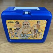 Wwf Lunchbox 1985 Hulkster, Andre The Giant, Rowdy Roddy Piper- No Thermos