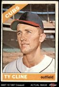 1966 Topps 306 Ty Cline Cubs 2 - Good