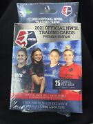 2021 Official Nwsl Trading Cards Premier Edition Sealed Pack. Box Of 25 Cards.