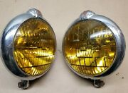 Vintage Original Gm Unity Accessory Fog Lights Lamps Chevy Buick Olds S-6