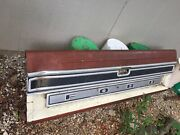 1973-1979 Ford Truck Lariat Tailgate W/ Trim Chrome Moulding And Studs Oem Rare