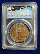 🌟2019-w Pcgs Sp70 Burnished 50 Gold Eagle Thomas Cleveland First Strike Pop 16
