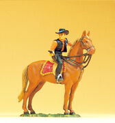 Preiser 54823 Scale 125 Figurine Sheriff To Horse,with Revolver  New Boxed