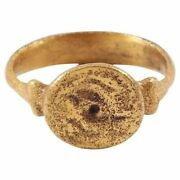 Fine Medieval Manand039s Ring 12th-13th Century Size 10 Andfrac34