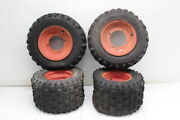 1999 Yamaha Blaster 200 Yfs200 Rear And Front Wheels Rims W Tires