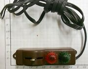 Lionel 5122-200x Brown O27 Switch Controller With Wire And Lenses 10