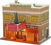 Dept 56 Christmas In The City Village - The Savoy Ballroom Nyc Light Up Building