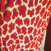 Jude Connally Euc 158 Smooth Stretch Red/orange Leopard Trixie Pants Sz Small