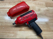 Snap On Tools Mg725 1/2 Air Impact With Protective Boot Working Condition