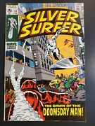 Silver Surfer 13 1970 Vf 8.0 The Dawn Of The Doomsday Man 1st Doomsday Man|