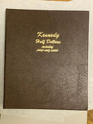 Lot Of 128-silver And Clad Kennedy Halves 1964 - 2004-unc And Proof In Dansco Album