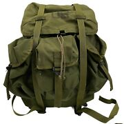 Us Military Alice Lc 1 Medium Combat Field Backpack Extra Straps And Cargo Shelf