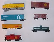 Vintage Ho Lot Of 7 Rollingstock And 1 Engine For Parts Or Repair Bachmann And Mar