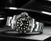 Steeldive Sd1953 Automatic Diver Seiko Nh35 Submariner Homage Fast Us Ship