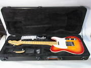 Fender Usa 2002 Made/color American Deluxe Telecaster Aged Cherry Burst