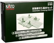 Kato 20-652 Unitrack Automatic Crossing Gate S N Gauge F/s W/tracking Japan New