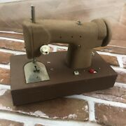 Vintage 1960s Signature Junior Battery Operated Toy Sewing Machine