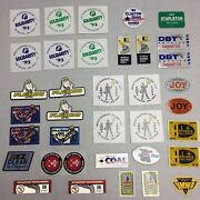 Huge Lot Of Coal Mining Sticker Some Reflective Kennametal Political 35+ Decals