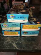 5 New Athearn Undecorated Blue Box Vintage Ho Kits Caboose Hopper 50' Boxcars