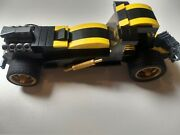 Lego Custom Hot Rod Batmobile With Working Missiles And Grappler + Seceret Starage
