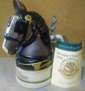 Rare 1995 Budweiser Beer Clydesdale Head Stein...limited Edition
