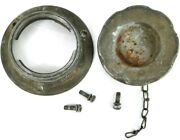 1970-1971 Datsun 240z Fuel Gas Filler Gas Cap With Retainer Ring Cain And Screws