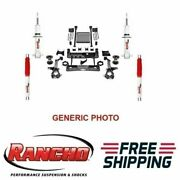Rancho Lift Kit 6 Front And Rear Suspension For Chevrolet Silverado 1500 4wd