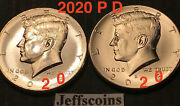 2020 Pandd Kennedy Half Dollars Kenedy Pd Mint Roll Clad 50andcent Best 2 New Sale Coins