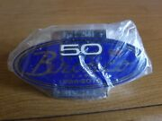 Ford Bronco 50th Anniversary Grill Badge Early Bronco Classic Bronco