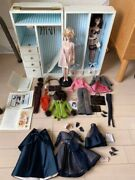 Barbie Fashion Model Series 2 Dolls And Wardrobe Carry Case Set From Japan