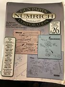 Numrich Gun Parts Catalog 25reference Guide For Antique Partsover 1200 Pages