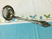 Oneida Community Stainless Soup/punch Ladle Brahms Pattern - Never Used