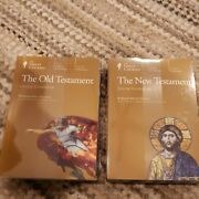 Great Courses The New And Old Testament 2 4-disc Dvd Sets And Guidebooks New Sealed