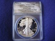 2016 W Rarest Conratulations Set Proof Silver Eagle Anacs Pf69 Only 5996 Made