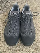 Asolo Menand039s Size 9.5 Agent Evo Gv Gore-tex Hiking Vibram Trail Shoes Worn Once