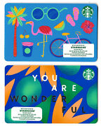 Gift Cards Starbucks Cafe Restaurant ☕🍵🍰 Collectible Canada You Are Wonderfull