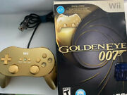 James Bond 007 Classic Edition Bundle With Gold Wii Classic Controller