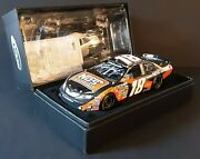 Kyle Busch 2009 18 Nos Energy Nationwide Champ Autographed White Gold Elite