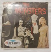 Viewmaster Reel The Munsters New Unopened Sealed Sawyer's B481