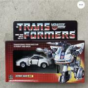 Transformers From Reace Car To Robot And Back Autobot Agent Jazz