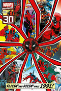 Details About Deadpool Marvel Comic Poster Slicin And Dicin Since 1991