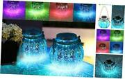 2 Pack Solar Lanterns Outdoor Christmas Table Decorations Super Bright Led