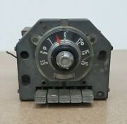 Vintage Car Truck Tube Radio Fomoco Round Dial Push Buttons Untested