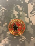 Usmc School Of Infantry West 0913 Combat Instructor Challenge Coin A