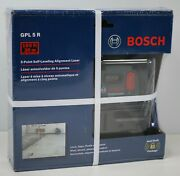 Bosch Model Gpl 5 R 5-point Self-leveling Alignment Laser - New- Free Shipping