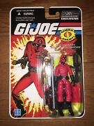 Gi Joe 25th Moc Fss 8.0 Collectors Club Exclusive Red Laser Figure Sealed New
