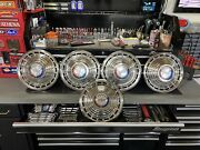 """1963 Ford Galaxie 500 14"""" Hubcaps"""