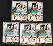 2016 Donruss Soccer Sealed Blaster Box - Purple Parallels - Pulisic Rc - 5 Boxes
