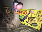 Marx Dino Dinosaur Flintstone Works And Game Battery Operated